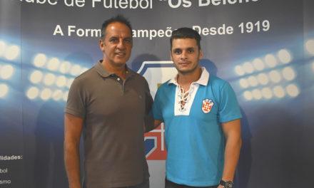 Avançado Rúben Braga às ordens do técnico Nuno Oliveira