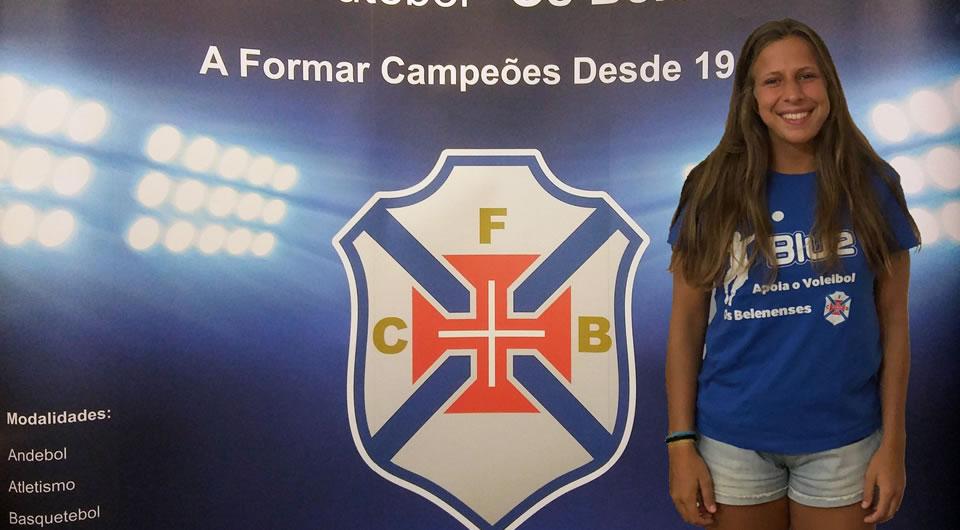 Margarida Rocha chega ao Restelo para reforçar o voleibol do Belenenses