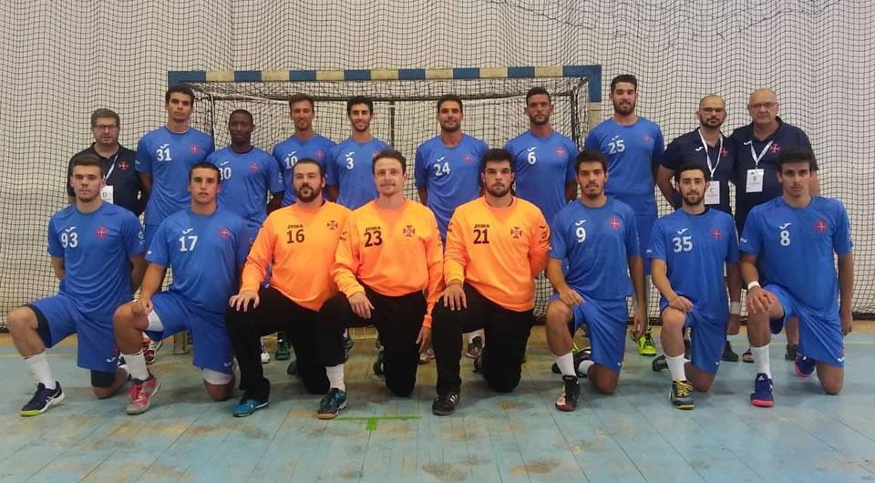 Azuis com vitória expressiva no arranque do Campeonato Andebol 1