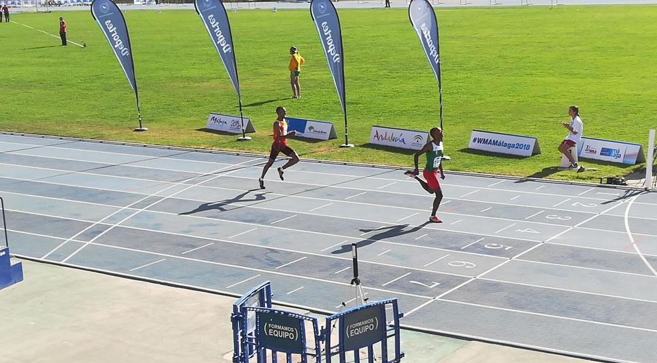 Edivaldo Monteiro é Campeão do Mundo de Atletismo nos 400m barreiras – Masters