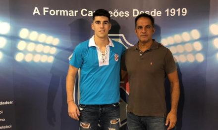 Guarda-Redes Afonso Nunes chega do Desportivo das Aves para reforçar o futebol azul