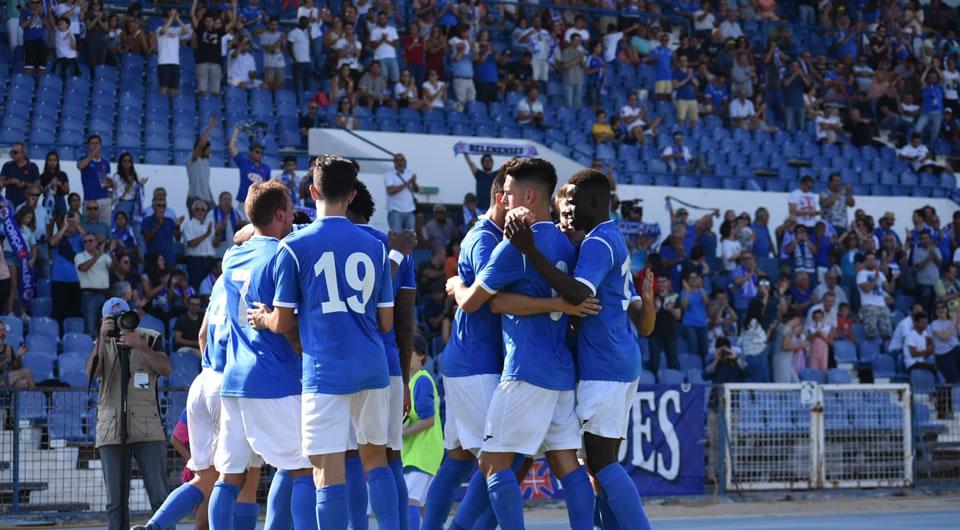 Belenenses entra no campeonato com uma vitória clara por 4-0