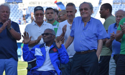 Vicente Lucas e Manuel Andrade homenageados no Estádio do Restelo
