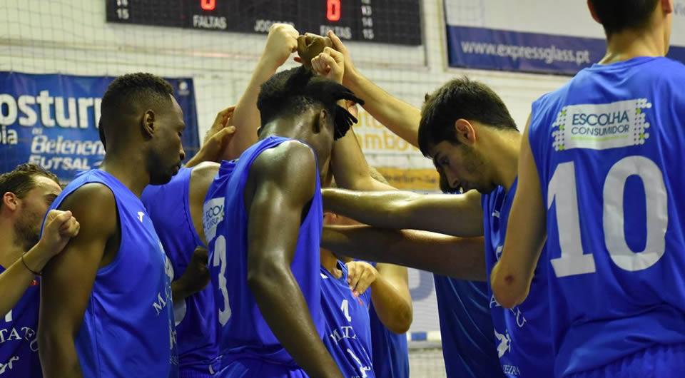 Basquetebol continua em maré de vitórias na Proliga