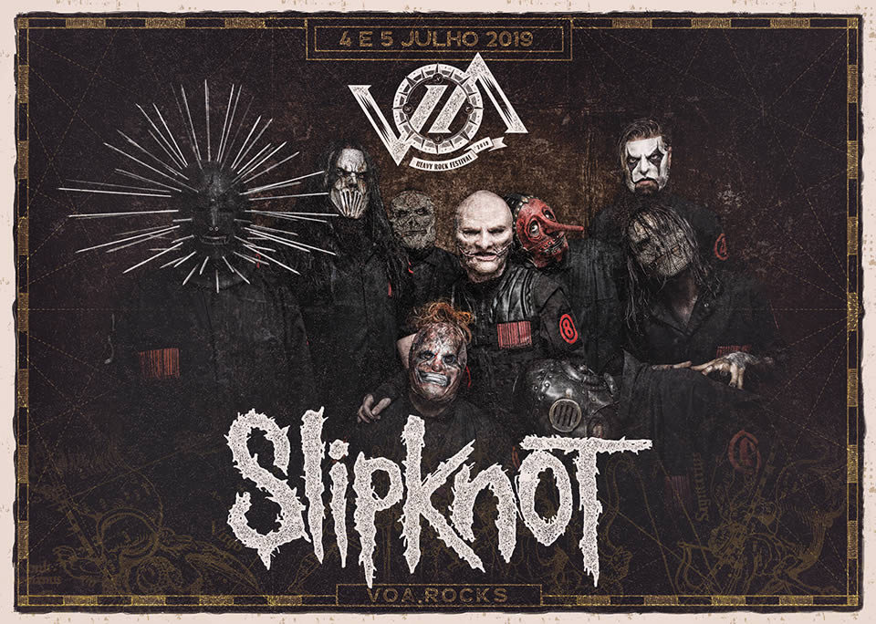 Slipknot | Estádio do Restelo