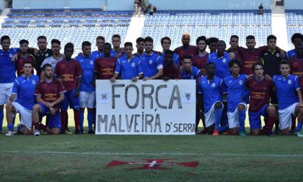 Momento de solidariedade para com o GD Malveira da Serra