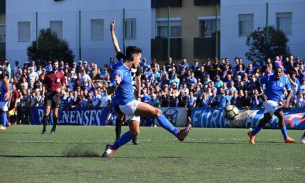 Belenenses vence em Trajouce e sobe ao topo da tabela à 2ª jornada
