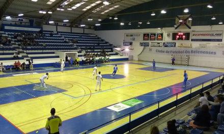 Triunfo sobre o Burinhosa vale a 2ª vitória na Liga Sportzone de Futsal