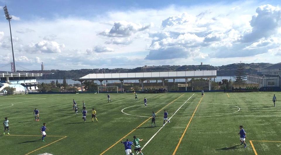 Derby de Juniores A com o Sporting termina com empate a um golo