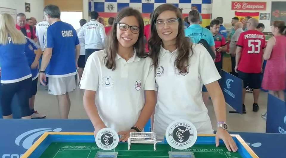 Carolina Villarigues vence Grande Prémio Internacional de Espanha de Futebol de Mesa