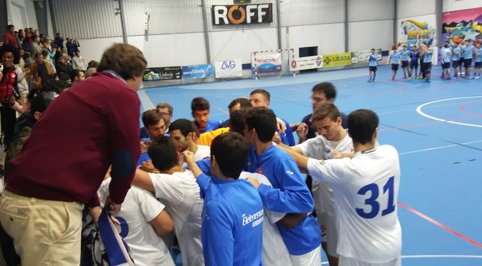 Belenenses vence na Boa Hora e alcança o 4º lugar do campeonato Andebol 1