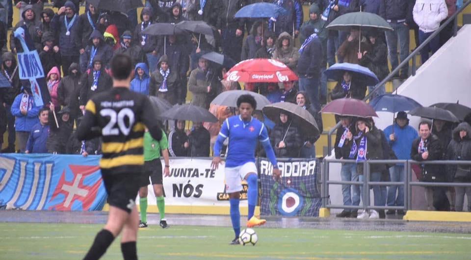 Belenenses avança para a 3ª eliminatória da Taça em tarde de chuva torrencial