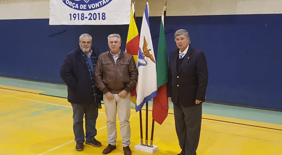Belenenses marcou presença no centenário do 'Juventude de Évora'