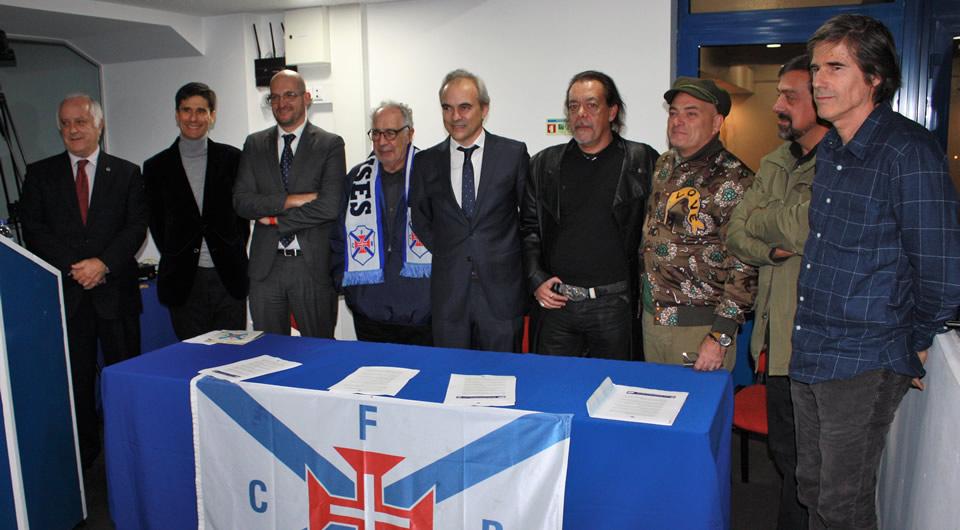 Sala cheia na apresentação das comemorações do Centenário do Belenenses
