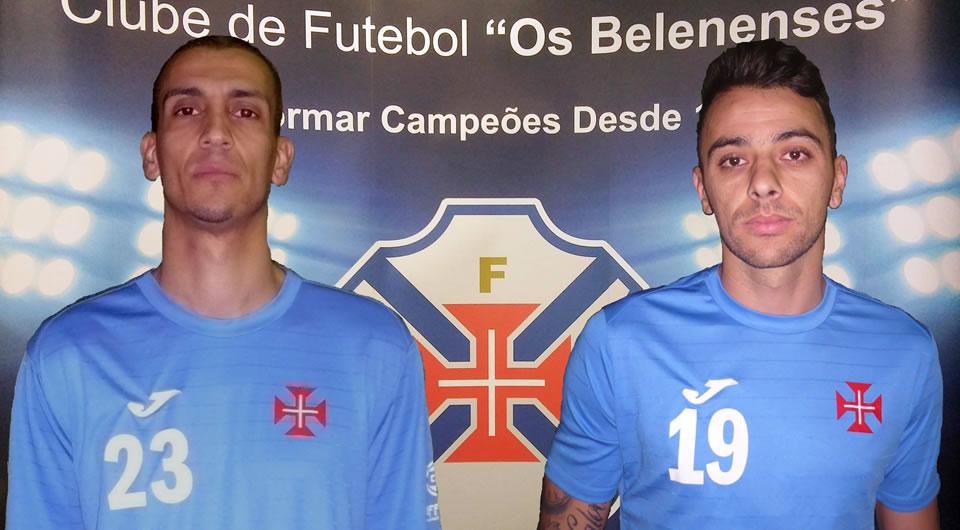 Jardel e Sandro Noronha são reforços para a segunda metade da época