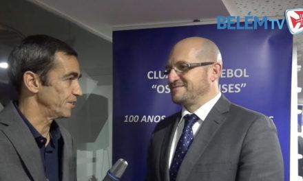 """Óscar Machado Rodrigues: """"Desejamos um Centenário repleto de iniciativas"""""""
