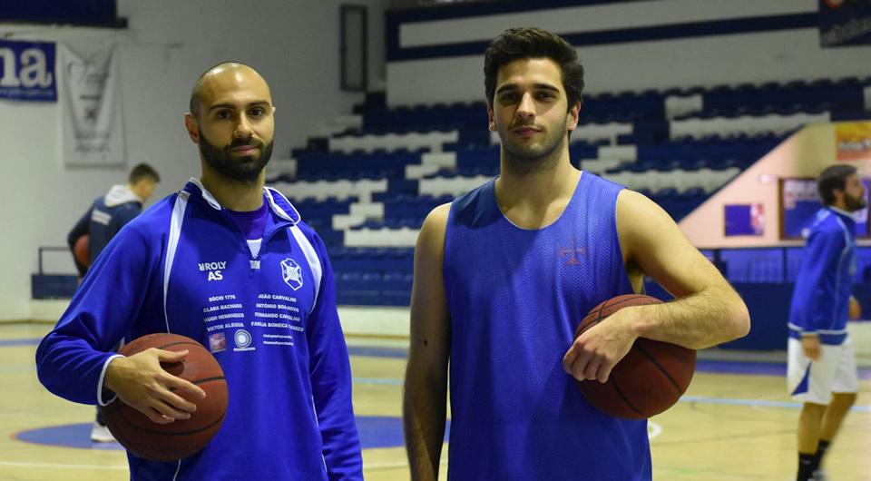 Afonso Gonçalves e Gonçalo Tavares são reforços para a 2ª fase da Proliga