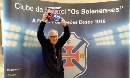 Realizador Luís Galvão Teles na exposição do Centenário