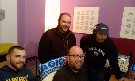 Fúria Azul também esteve em estúdio