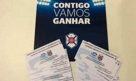 700 bilhetes-convite para sócios na última jornada da 1ª volta