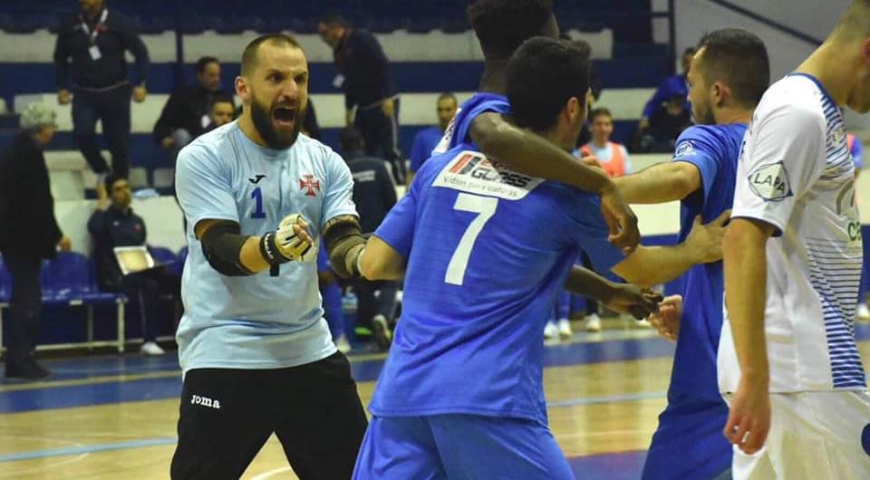 Azuis falham o acesso ao Play-off da Liga SportZone de futsal