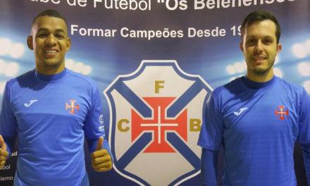 Ygor e Lolatto são reforços do Futsal do Belenenses