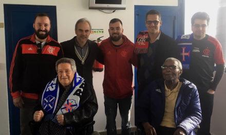 Embaixada do Flamengo em Lisboa visitou o Estádio do Restelo