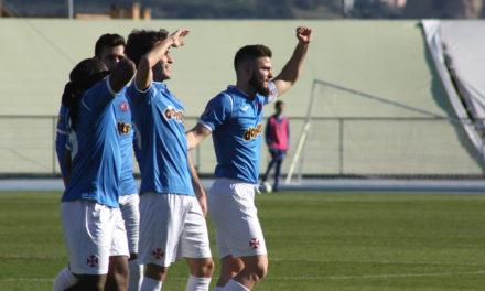 Belenenses goleia CAC e avança para os 'Oitavos' da Taça AFL