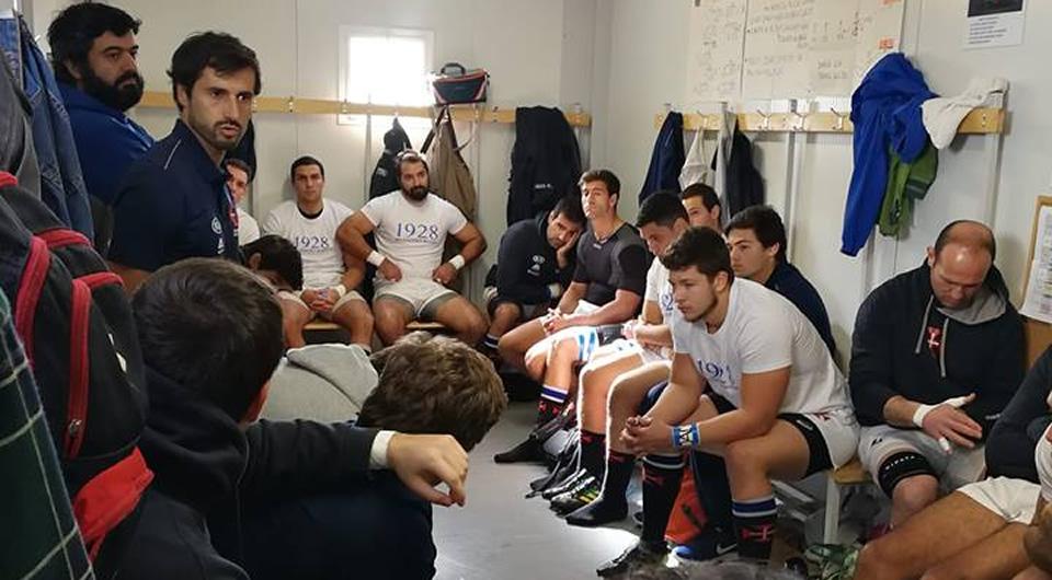 Vitória clara do 'quinze' azul no primeiro jogo no Belenenses Rugby Park