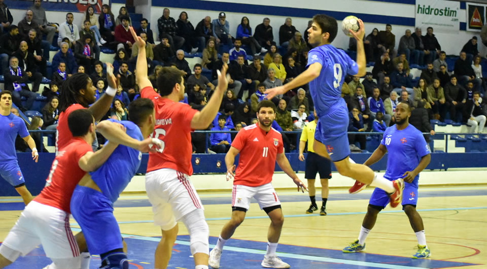 Belenenses está apurado para o Grupo A do Campeonato Andebol 1