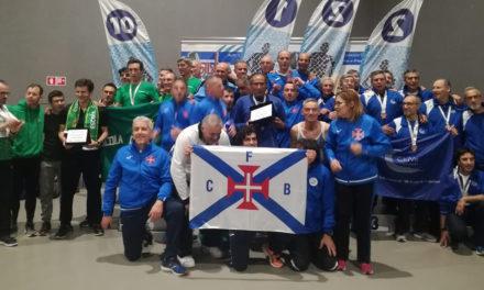 Belenenses é pentacampeão nacional de Atletismo em Veteranos masculinos