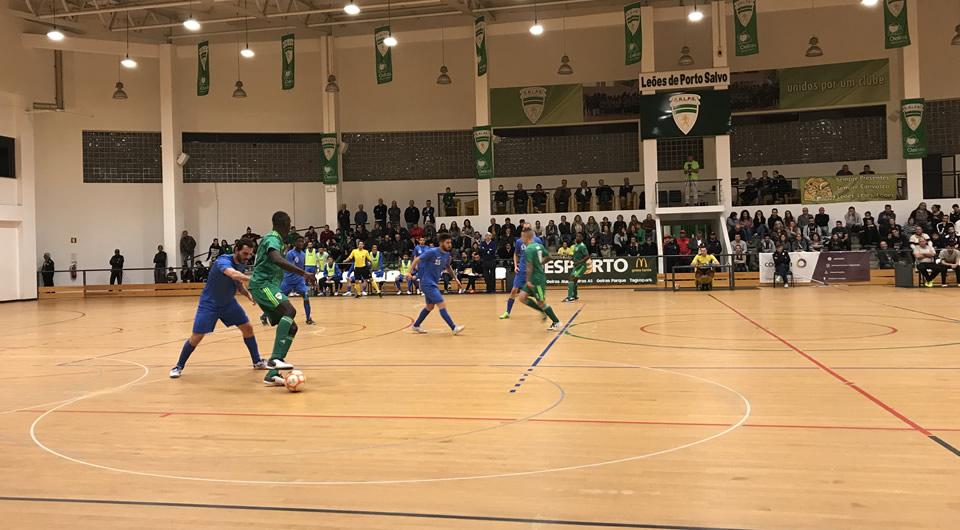 Belenenses empata a 4 golos na deslocação aos Leões de Porto Salvo