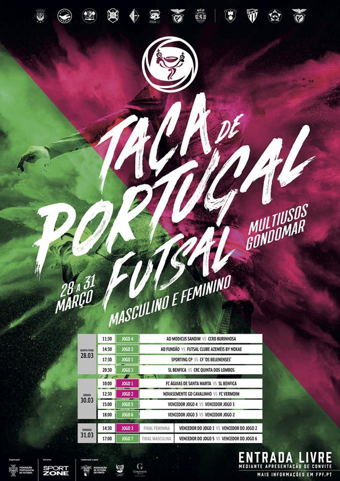 Futsal   Final-8 Taça de Portugal 2019