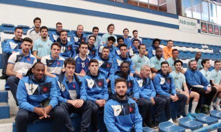 Alex Figueiredo é o porta-voz do apoio do futebol ao andebol