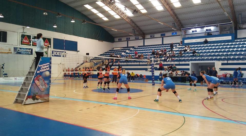Voleibol entra na 2ª fase com o pé direito e alcança vitória por 3-0