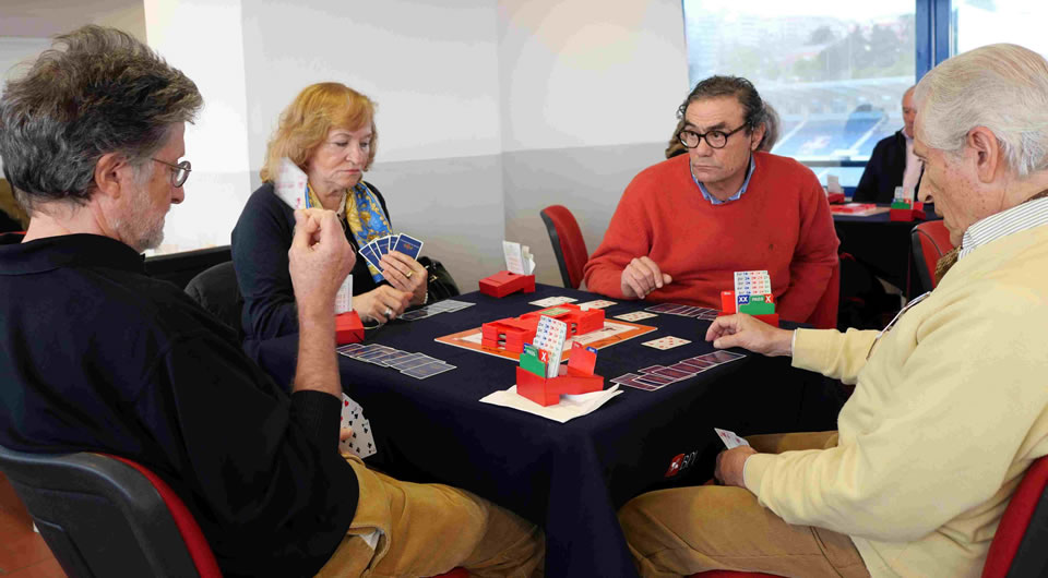 Mais um Torneio de Bridge do Belenenses na Sala VIP do Restelo