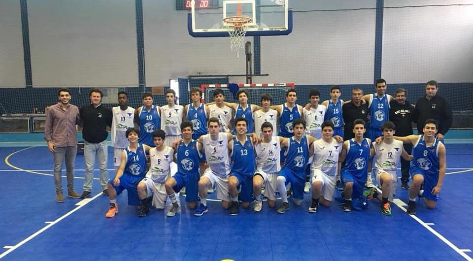Sub-16 Masculinos apurados para a 2ª fase da Taça Nacional