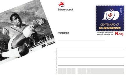 Cerimónia solene de aposição do carimbo no Postal comemorativo do Centenário