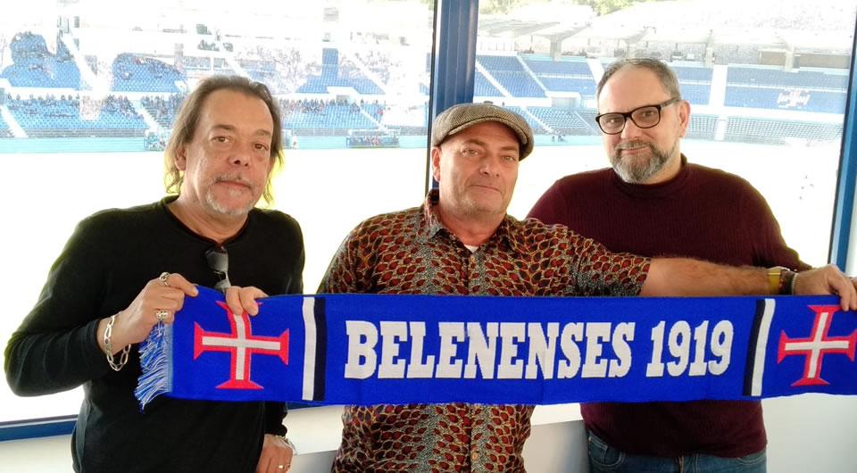 Domingo vamos ouvir pela primeira vez a música do centenário do Belenenses