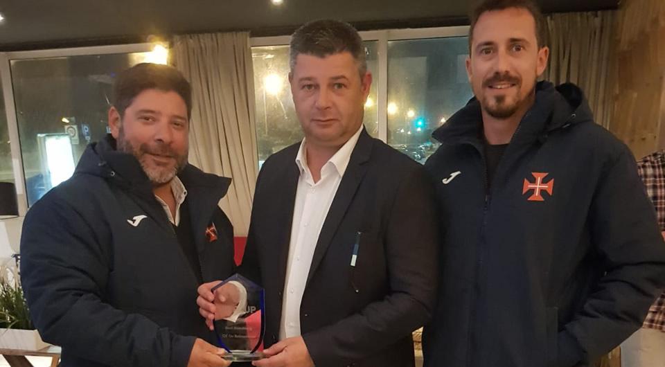 """Futebol de formação do Belenenses recebe prémio """"Best Academy"""""""