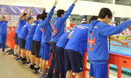 Grande prestação dos azuis no Nacional de Clubes da I Divisão