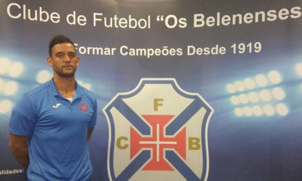 15ª temporada para Bruno Moreira ao serviço do Andebol do Belenenses