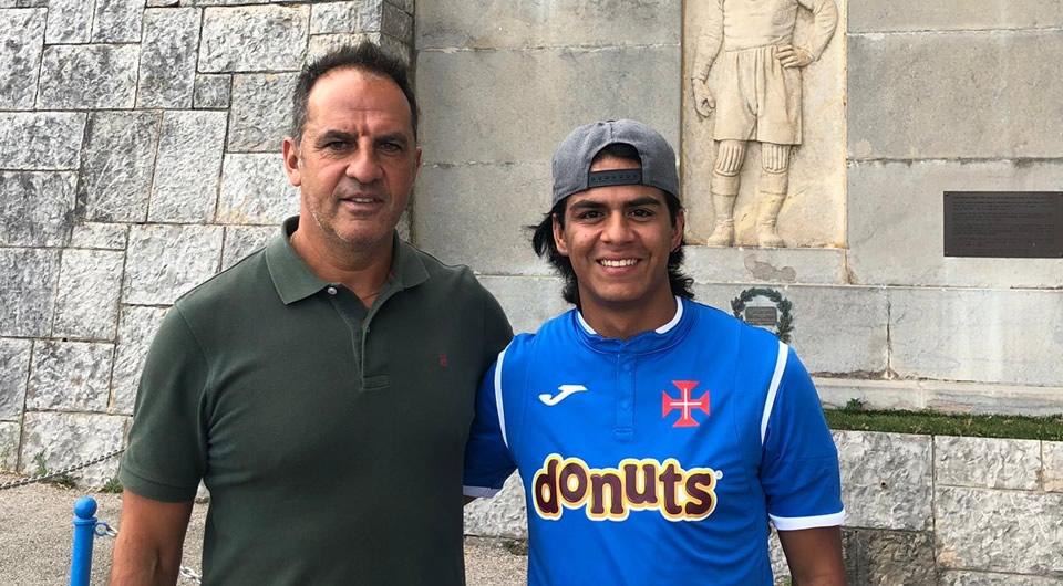 Extremo colombiano Juan Saldarriaga é o primeiro reforço do Belenenses para 2019/20