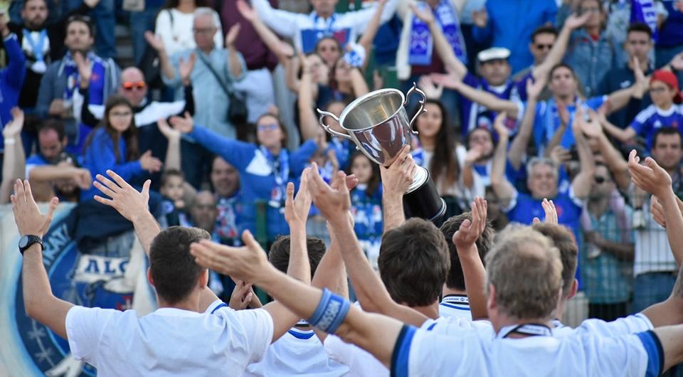 O Belenenses é Campeão da I Divisão da AFL com mais uma casa cheia