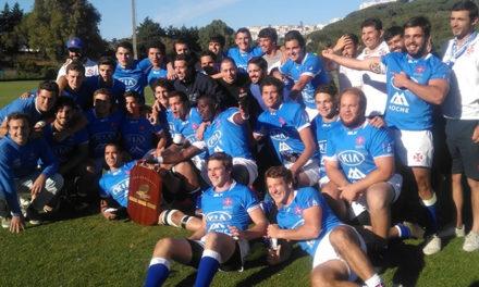 Belenenses é Campeão Nacional de Rugby no escalão Challenge