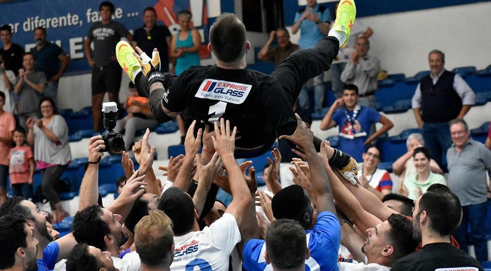 Acácio Rosa despede-se de Marcão em grande festa do Futsal