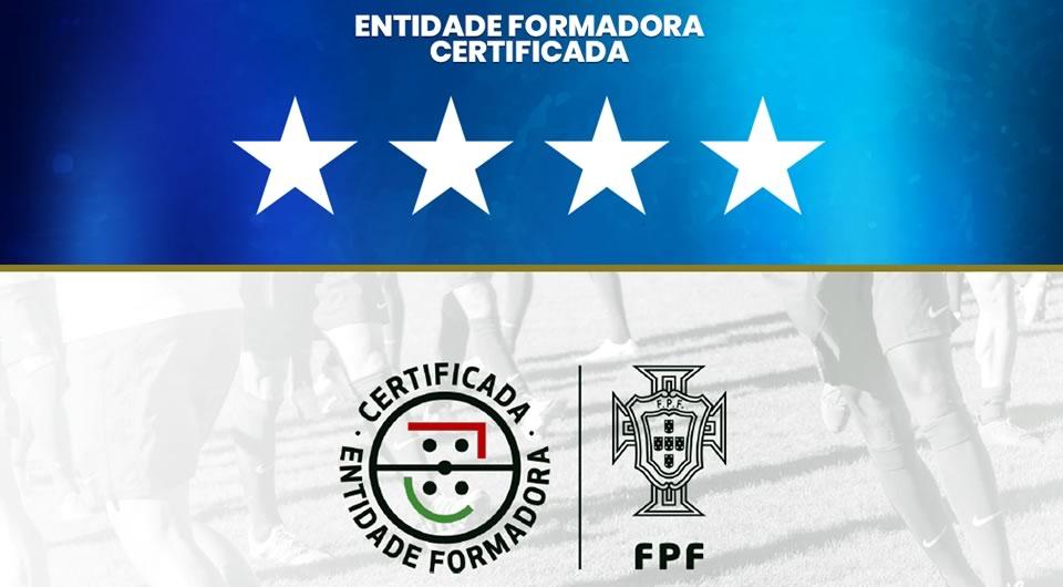 FPF volta a reconhecer a excelência da formação do Belenenses