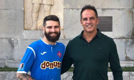 Lateral Pedro Fogeiro é o mais recente reforço para Nuno Oliveira