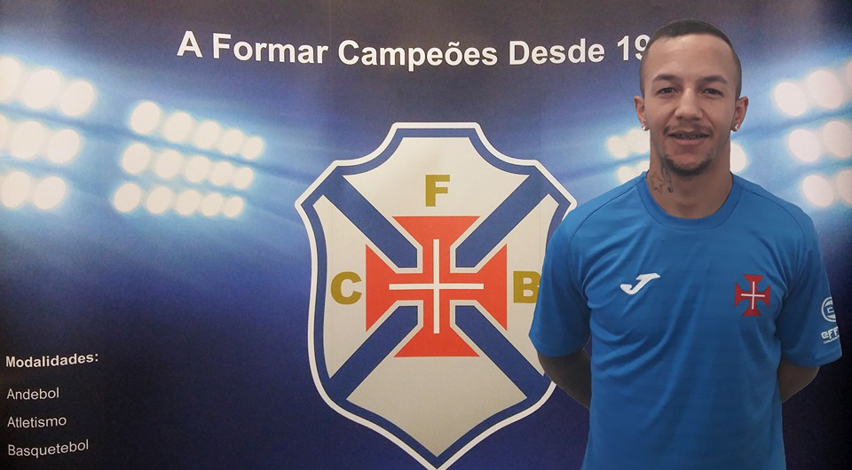 Ala brasileiro Everton Haap reforça futsal da Cruz de Cristo