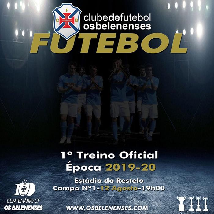 Futebol | 1º treino 2019/20